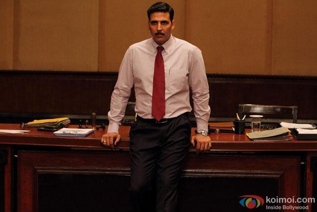 Akshay Kumar in a still from movie 'Special 26'
