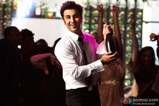Ranbir Kapoor in a still from movie 'Yeh Jawaani Hai Deewani'