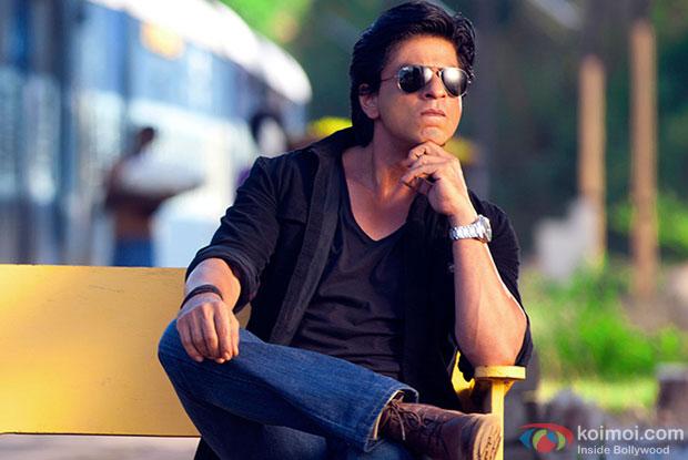 Shah Rukh Khan in a still from movie 'Chennai Express'