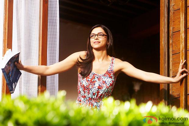 Deepika Padukone in a still from movie 'Yeh Jawaani Hai Deewani'