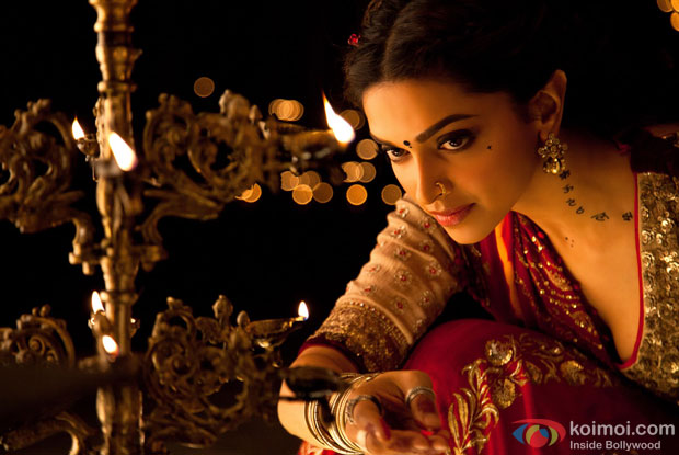 Deepika Padukone in a still from movie 'Goliyon Ki Raasleela - Ramleela'