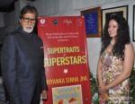 Amitabh Bachchan and Priyanka Sinha Jha Snapped At A Book Launch Pic 1