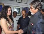 Priyanka Sinha Jha and Amitabh Bachchan Snapped At A Book Launch Pic 3
