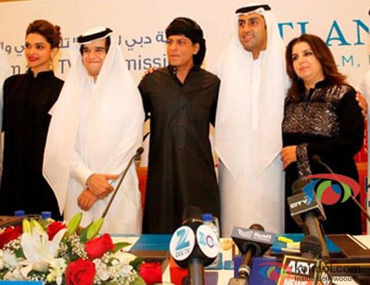 Happy New Year Team At A Press Meet In Dubai