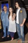Mahesh Bhatt, Alia Bhatt and Imtiaz Ali promote Highway Pic 2