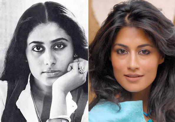 Smita Patil and Chitrangada Singh