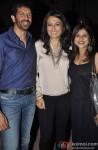 Kabir Khan, Mini Mathur and Elahe Hiptoola celebrate the success of Lakshmi