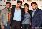 Arjun Kapoor, Priyanka Chopra and Ranveer Singh at 'Gunday' press conference in Delhi Pic 3
