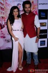 Neha Sharma and Jackky Bhagnani during the Trailer Launch Of 'Youngistaan'