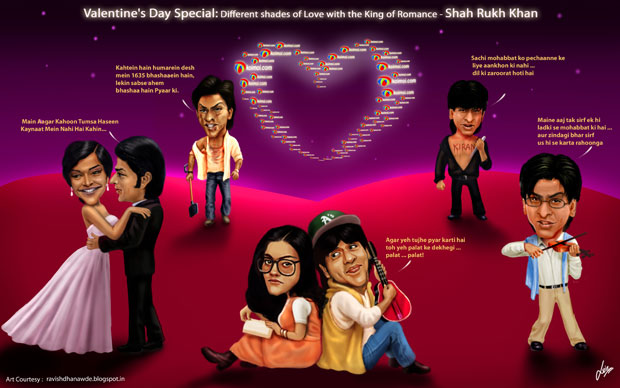 Valentine's Day Special: Different shades of Love with the King of Romance - Shah Rukh Khan