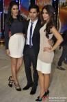 Nargis Fakhri, Varun Dhawan and Ileana Dcruz Promote Main Tera Hero