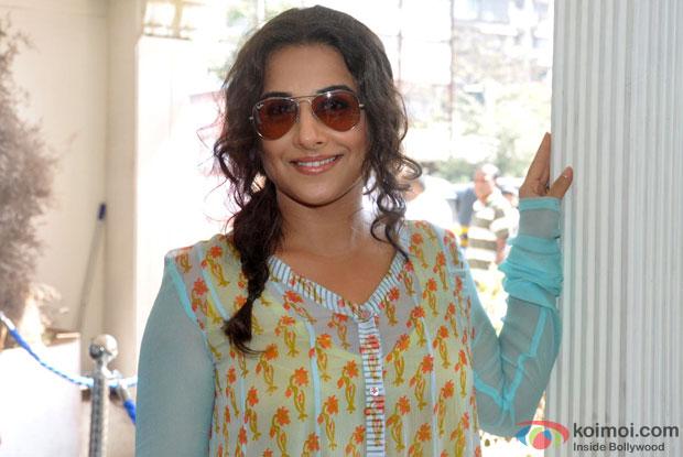 Vidya Balan at an event