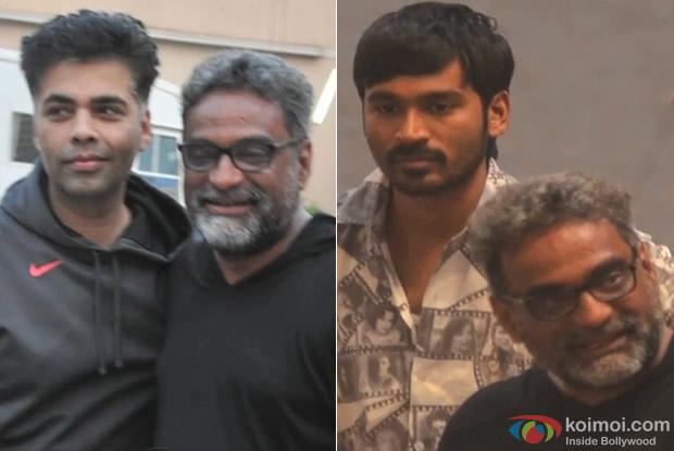 Karan Johar, R Balki and Dhanush