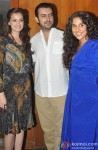 Dia Mirza, Sahil Sangha and Vidya Balan at the Wrap Up Party Of 'Bobby Jasoos'