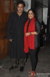Baba Azmi and Tanvi Azmi at the Wrap Up Party Of 'Bobby Jasoos'