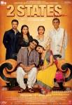 Arjun Kapoor, Alia Bhatt, Amrita Singh, Revathy, Ronit Roy and Shiv Subrahmanyam Starrer 2 States Movie Poster 4
