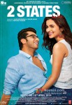 Arjun Kapoor, Alia Bhatt, Amrita Singh, Revathy, Ronit Roy and Shiv Subrahmanyam Starrer 2 States Movie Poster 3