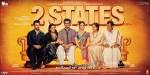 Arjun Kapoor, Alia Bhatt, Amrita Singh, Revathy, Ronit Roy and Shiv Subrahmanyam Starrer 2 States Movie Poster 2