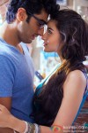 Arjun Kapoor and Alia Bhatt in 2 States Movie Stills Pic 2
