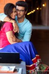 Alia Bhatt and Arjun Kapoor in 2 States Movie Stills Pic 1