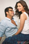 Arjun Kapoor and Alia Bhatt in 2 States Movie Stills Pic 1