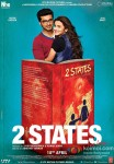 Arjun Kapoor, Alia Bhatt, Amrita Singh, Revathy, Ronit Roy and Shiv Subrahmanyam Starrer 2 States Movie Poster 5