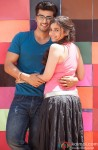 Arjun Kapoor and Alia Bhatt in 2 States Movie Stills Pic 4