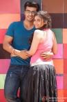 Arjun Kapoor and Alia Bhatt in 2 States Movie Stills Pic 4