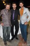 Bickram Ghosh, Sonu Nigam and Purab Kohli during the music launch of film 'Jal'