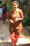 Deepti Naval Celebrates 'Holi'