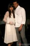 Genelia D'souza and Riteish Deshmukh at the Lakme Fashion Week 2014