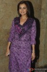 Dia Mirza Clicked On Special Screening of Queen