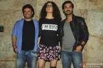 Vikas Bahl, Kangana Ranaut and Rajkummar Rao Clicked On Special Screening of Queen