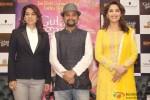 Juhi Chawla and Madhuri Dixit Promote Gulaab Gang in Delhi Pic 2