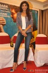 Shilpa Shetty during the press meet of the film Dishkiyaoon