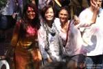 Richa Chadda, Aditi Rao Hydari and Dia Mirza Celebrate 'Holi'