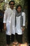 Sahil Sangha and Dia Mirza Celebrate 'Holi'