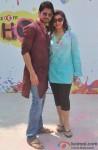 Sambhavna Seth Celebrates 'Holi'