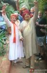 Shabana Azmi and Javed Akhtar Celebrate 'Holi'