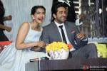 Sonam Kapoor and Ayushmann Khurrana at Bewakoofiyaan's press meet Pic 3