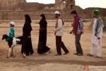 Asif Basra and Anshuman Jha in Yeh Hai Bakrapur Movie Stills Pic 1