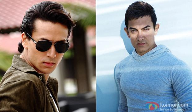 Tiger Shroff and Aamir khan