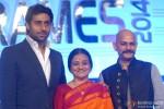 Abhishek Bachchan, Bhawana Somaaya and Vijay Krishna Acharya attend FICCI Frames 2014, Day 2 Pic 2