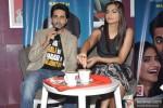 Ayushmann Khurrana and Sonam Kapoor promote 'Bewakoofiyaan' at a Coffee shop Pic 2