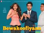 Ayushmann Khurrana, Sonam Kapoor and Rishi Kapoor starrer Bewakoofiyaan Movie Poster 1