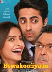 Ayushmann Khurrana, Sonam Kapoor and Rishi Kapoor starrer Bewakoofiyaan Movie Poster 2
