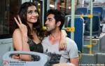 Sonam Kapoor and Ayushmann Khurrana in Bewakoofiyaan Movie Stills Pic 1