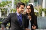 Ayushmann Khurrana and Sonam Kapoor in Bewakoofiyaan Movie Stills Pic 5