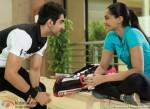 Ayushmann Khurrana and Sonam Kapoor in Bewakoofiyaan Movie Stills Pic 9