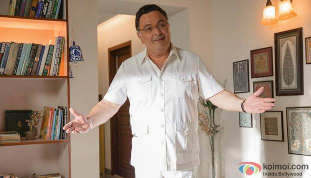 Rishi Kapoor in a still from movie 'Bewakoofiyaan'